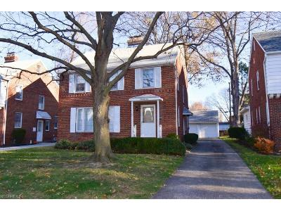 Euclid Single Family Home For Sale: 71 East 207 St