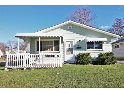 Eastlake Single Family Home For Sale: 1283 East 346th St