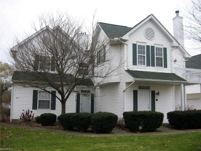 North Olmsted Single Family Home For Sale: 323 Vista Cir #28B
