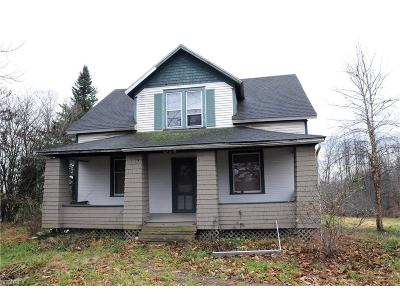 Guernsey County Single Family Home For Sale: 9920 Candy Rd