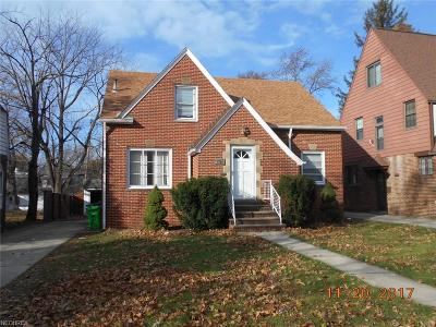 Euclid Single Family Home For Sale: 1764 East 238th St