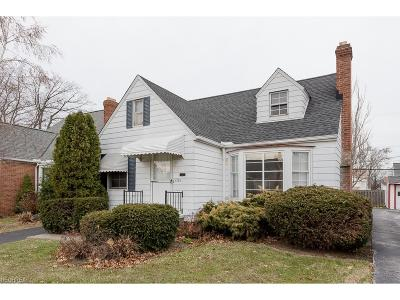 South Euclid Single Family Home For Sale: 4129 Wilmington Rd