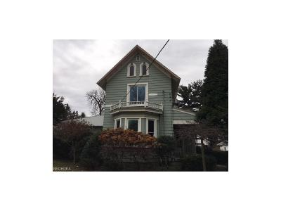 Salem OH Single Family Home For Sale: $39,900