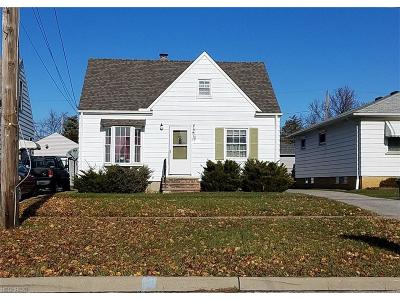 Maple Heights Single Family Home For Sale: 15513 Turney Rd
