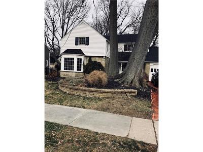 Bay Village, Rocky River Single Family Home For Sale: 21176 Kenwood Ave