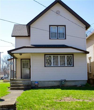 Ashtabula County Single Family Home For Sale: 725 Ohio Ave