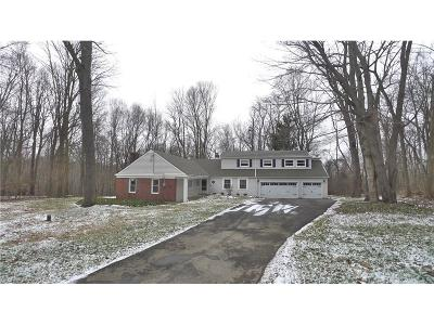 Geauga County Single Family Home For Sale: 7687 Country Ln