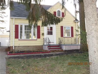 Cleveland Single Family Home For Sale: 14407 Alger Rd