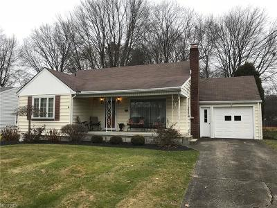 Boardman Single Family Home For Sale: 476 Brookfield Ave