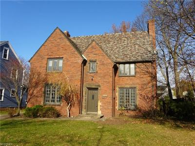 Shaker Heights Single Family Home For Sale: 16003 Chadbourne Rd