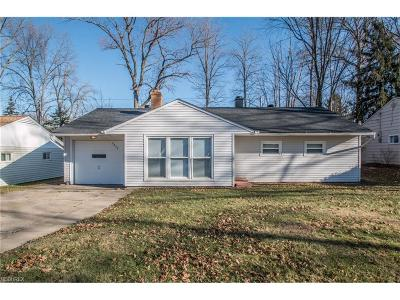 Parma Heights Single Family Home For Sale: 5853 Kings Hwy