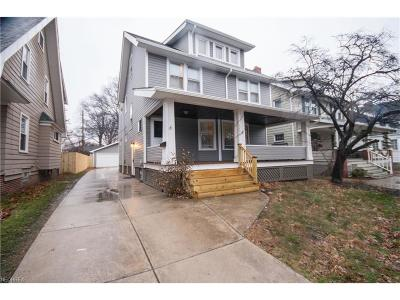Cuyahoga County Single Family Home For Sale: 1296 Andrews Ave