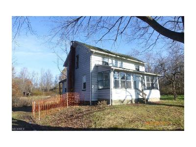 Single Family Home For Sale: 6305 Newton Falls Rd