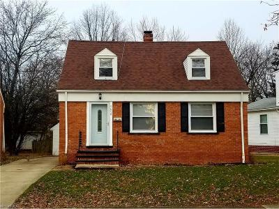 Maple Heights Single Family Home For Sale: 5650 South Blvd
