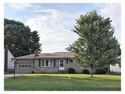 Struthers Single Family Home For Sale: 445 Geneva Ave