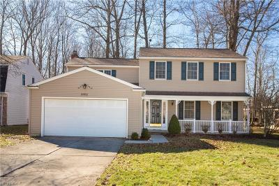 Strongsville Single Family Home For Sale: 20853 Oak Trail Ct