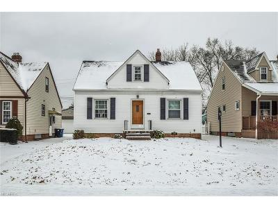 Single Family Home Sold: 17408 Glenshire Ave