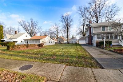 Euclid Residential Lots & Land For Sale: 25 East 220 St