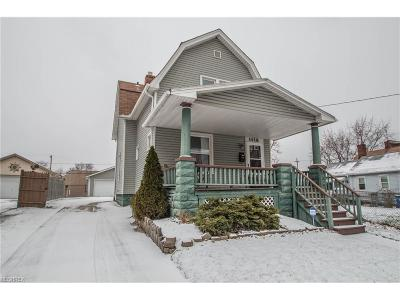 Cuyahoga County Single Family Home For Sale: 1428 West 54th St
