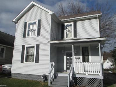 Single Family Home For Sale: 421 Eppley Ave