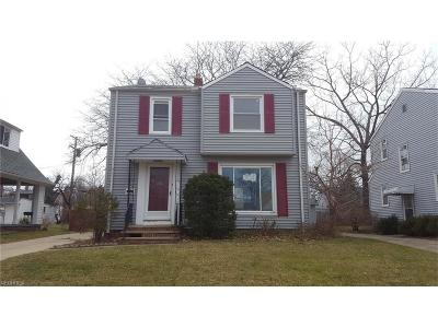 Euclid Single Family Home For Sale: 354 East 214th St