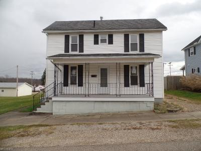 Guernsey County Single Family Home For Sale: 258 South 3rd St