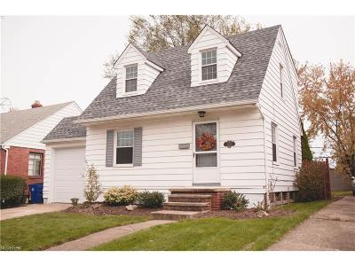 Cleveland Single Family Home For Sale: 3229 West 139th St