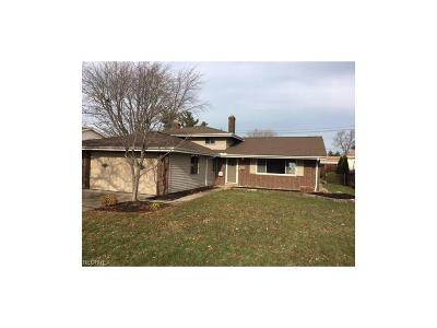 North Olmsted Single Family Home For Sale: 25150 Mitchell Dr