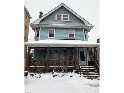 Cleveland Single Family Home For Sale: 11206 Clifton Blvd