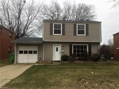Euclid Single Family Home For Sale: 21661 Bruce Ave
