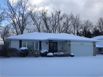 Cleveland Single Family Home For Sale: 5918 Cantwell Dr