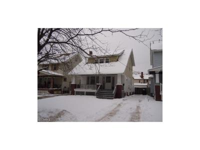Cleveland Single Family Home For Sale: 3480 West 120th St