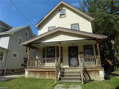 Cleveland Single Family Home For Sale: 4254 East 116th St