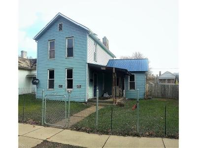 Zanesville Single Family Home For Sale: 1034 Woodlawn Ave