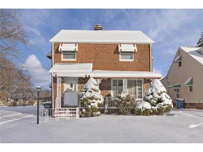 Parma Single Family Home For Sale: 3410 George Ave