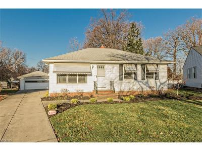 Wickliffe Single Family Home For Sale: 29455 Leslie Ct