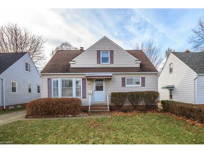 Willowick Single Family Home For Sale: 484 East 314th St