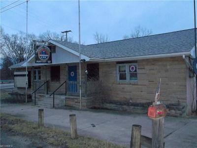 Guernsey County Commercial For Sale: 55398 Marietta Rd