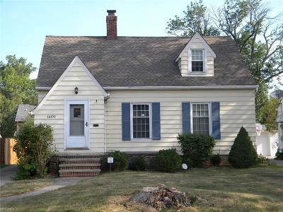 Cleveland Single Family Home For Sale: 16700 Woodbury Ave