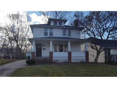 Wickliffe Single Family Home For Sale: 1734 East 290th St