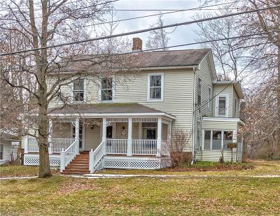 Chardon Single Family Home For Sale: 214 South Hambden St