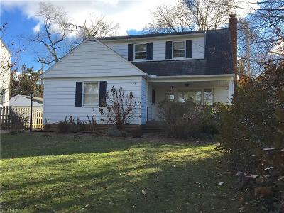 South Euclid Single Family Home For Sale: 4476 College Rd