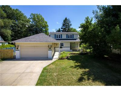 Beachwood Single Family Home For Sale: 23992 Glenhill Dr