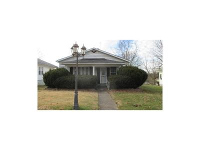 Guernsey County Single Family Home For Sale: 1121 North 18th St
