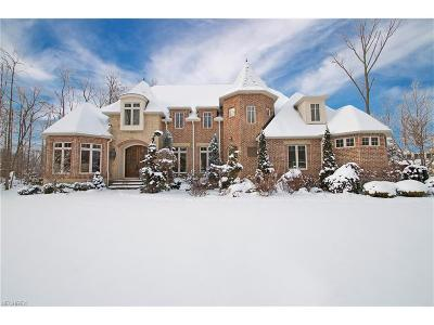 Chagrin Falls Single Family Home For Sale: 8155 Woodberry Blvd