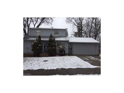 Maple Heights Single Family Home For Sale: 20807 Libby Rd