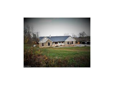 Frazeysburg Single Family Home For Sale: 10894 Pleasant Valley Rd