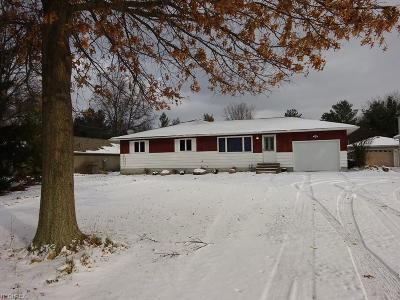 Strongsville OH Single Family Home For Sale: $147,500