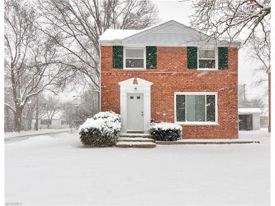 Lyndhurst Single Family Home For Sale: 1567 Overbrook Rd