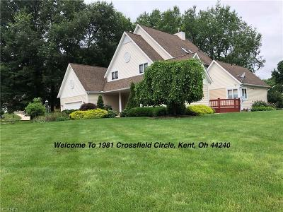 Kent Single Family Home For Sale: 1981 Crossfield Cir